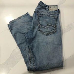 Light blue silver gordie jeans US size w33/L32